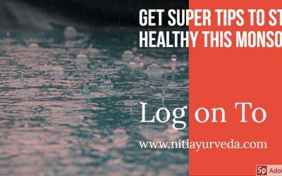 Super Tips To Stay Healthy In Rainy Season